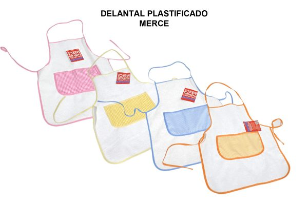 DELANTAL PLASTIFICADO MERCE