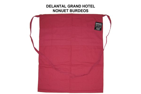 DELANTAL GRAND HOTEL NONUET BURDEOS