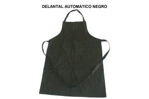 DELANTAL AUTOMATICO NEGRO