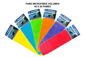 PAÑO MICROFIBRA VOLUMEN 40 X 38 PAMEX