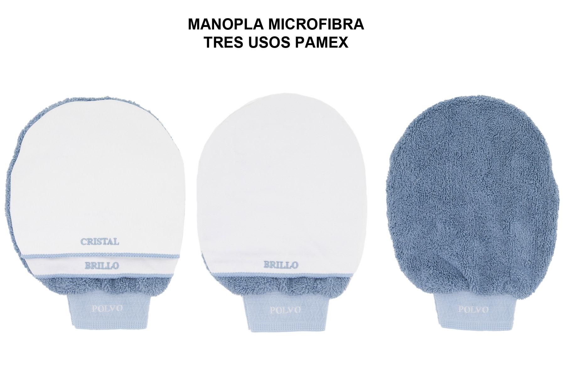 MANOPLA MICROFIBRA TRES USOS PAMEX