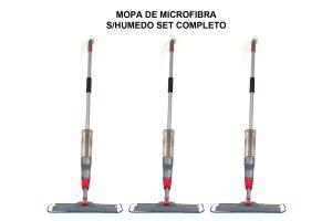 MOPA DE MICROFIBRA S/HUMEDO SET COMPLETO