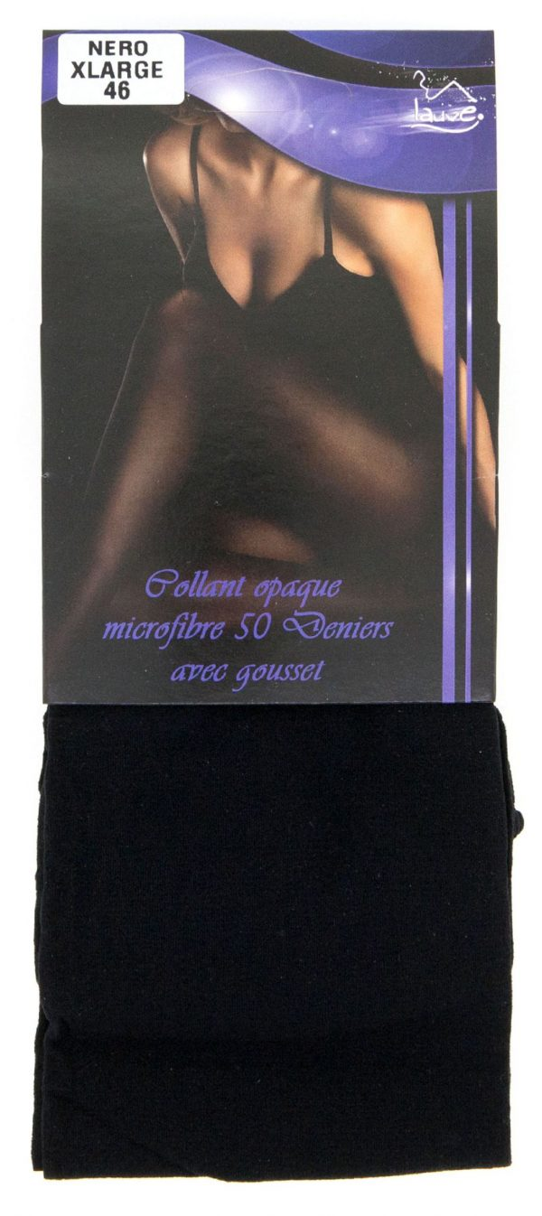 PANTY COLLANT NEGRO MEDIO