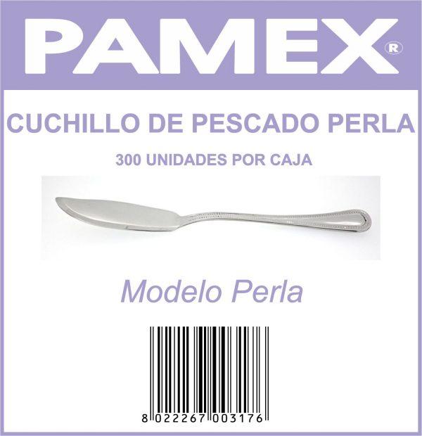CUCHILLO DE PESCADO PERLA .