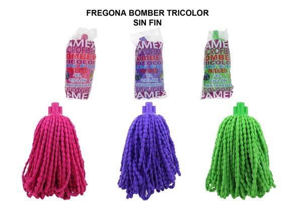 FREGONA BOMBER TRICOLOR SIN FIN