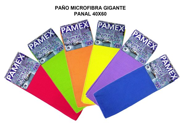PAÑO MICROFIBRA GIGANTE PANAL 40X60