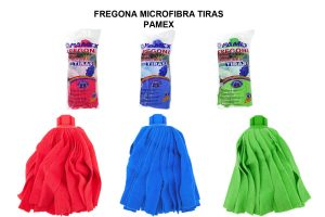 FREGONA MICROFIBRA TIRAS PAMEX