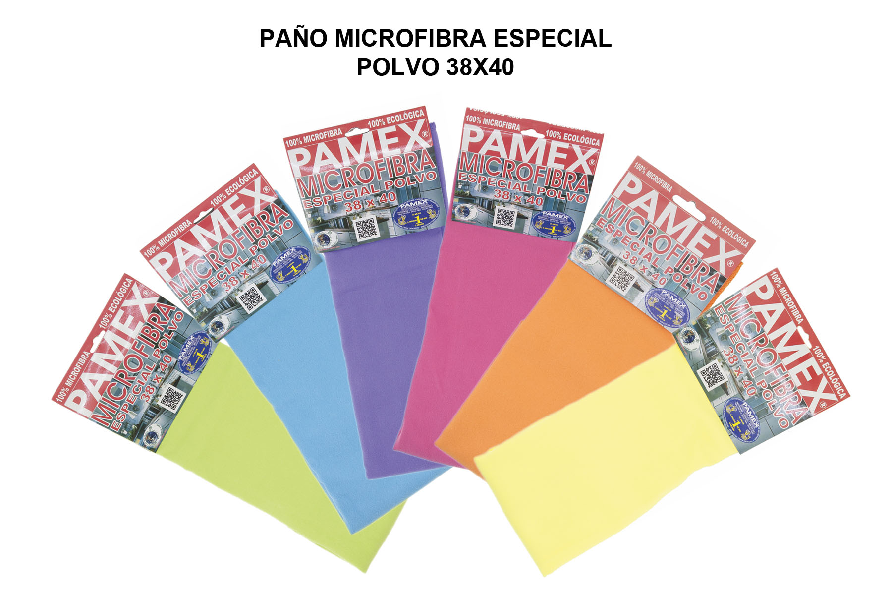 PAÑO MICROFIBRA ESPECIAL POLVO 38X40