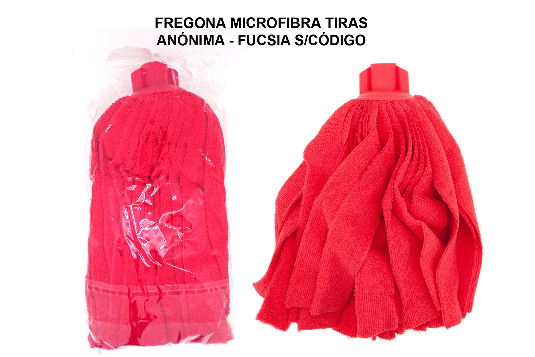 FREGONA MICROFIBRA TIRAS ANONIMA - FUCSIA S/CODIGO