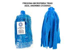 FREGONA MICROFIBRA TIRAS AZUL ANONIMA TECK