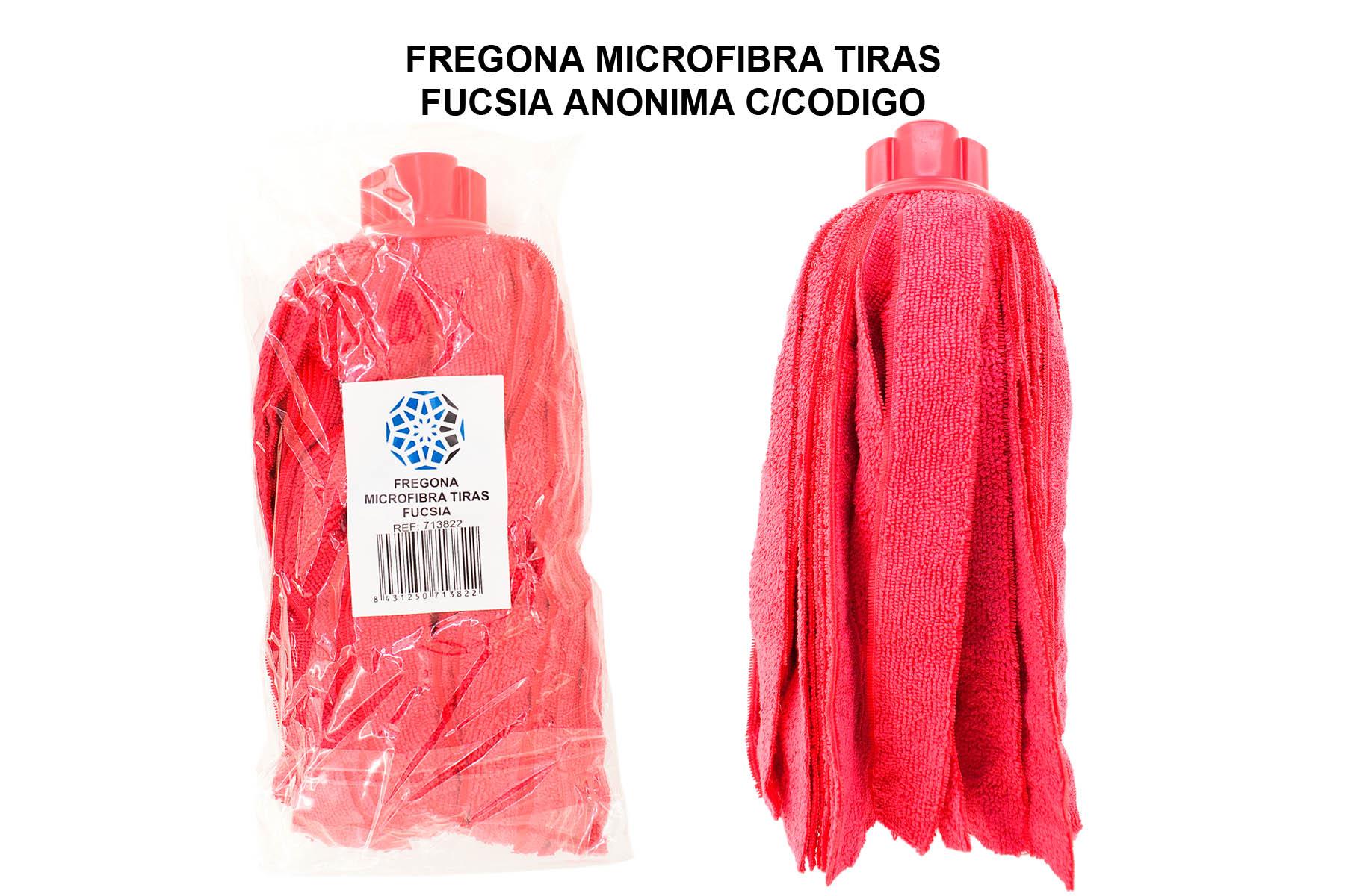 FREGONA MICROFIBRA TIRAS FUCSIA ANONIMA TECK