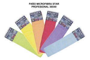 PAÑO MICROFIBRA STAR PROFESIONAL 38X40CM