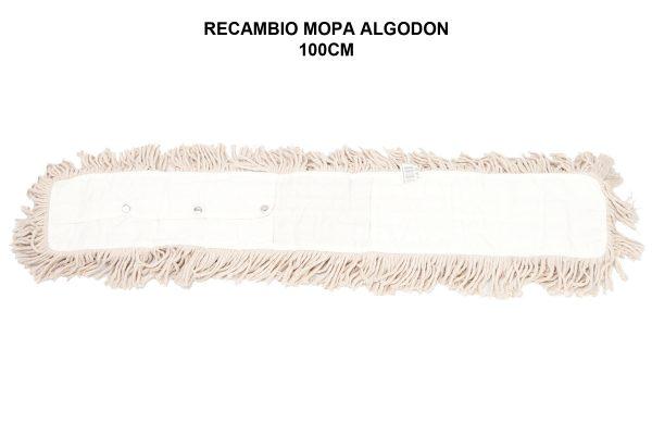 RECAMBIO MOPA ALGODON 100CM