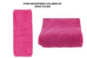 PAÑO MICROF. VOLUMEN SP 30X40 - FUCSIA