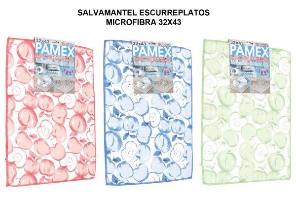 SALVAMANTEL - ESCURREPLATOS MICROFIBRA 32X43