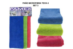PAÑO MICROFIBRA TECK-3 SET 3