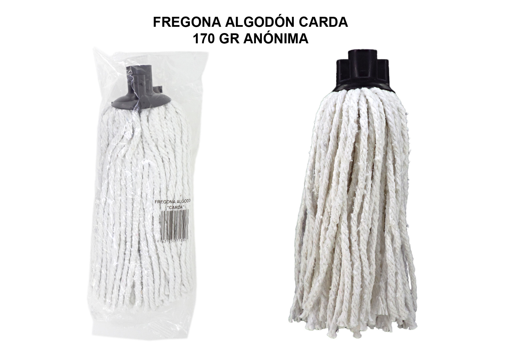 FREGONA ALGODON CARDA 170 GR ANONIMA