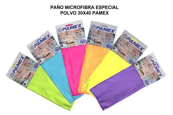 PAÑO MICROFIBRA ESPECIAL POLVO 30X40 PAMEX