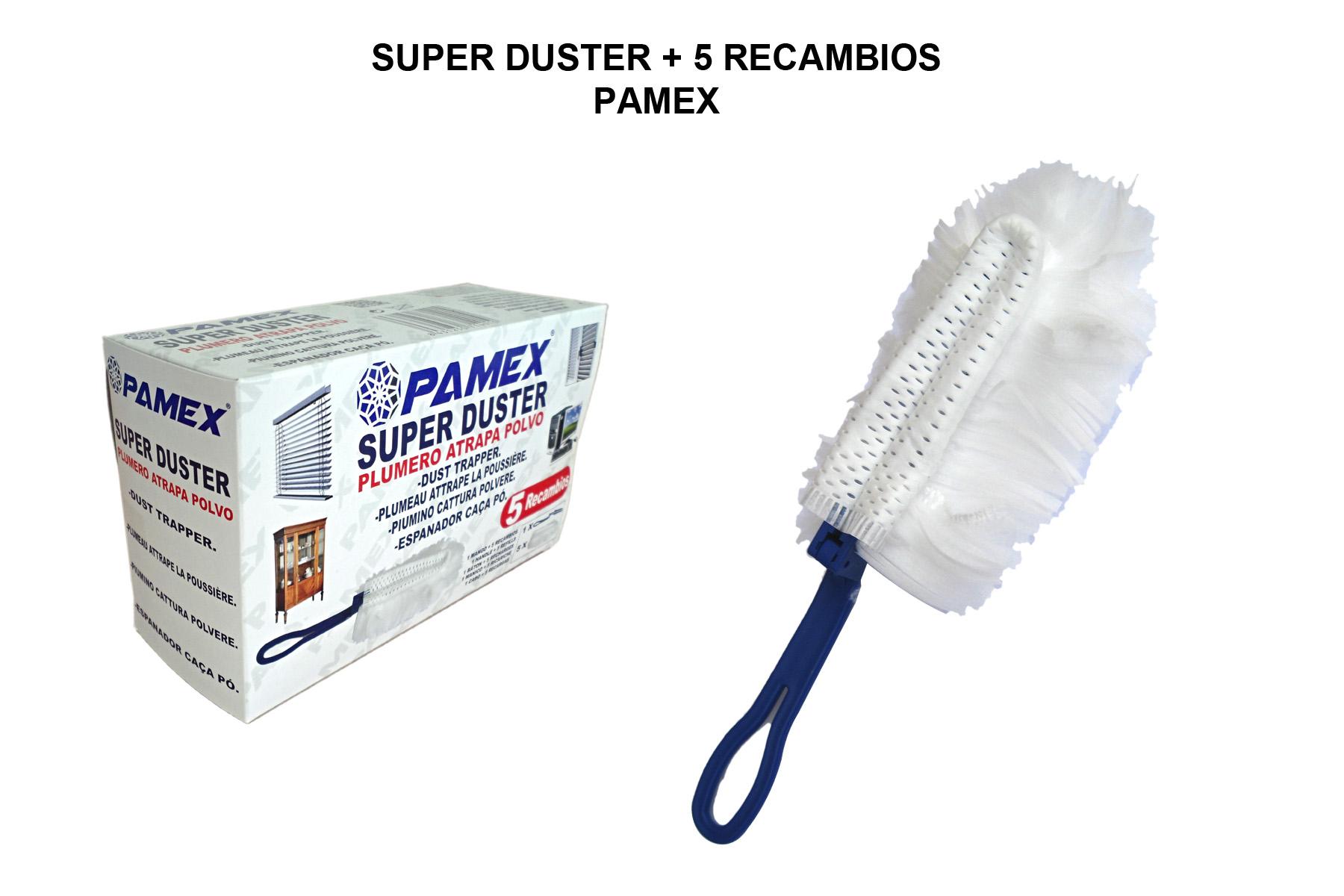 SUPER DUSTER + 5 RECAMBIOS PAMEX