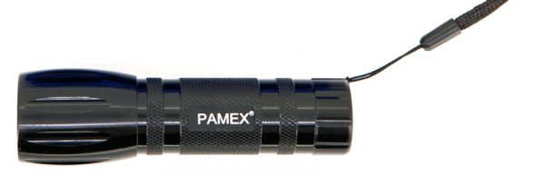 LINTERNA VERDE LEDs PAMEX