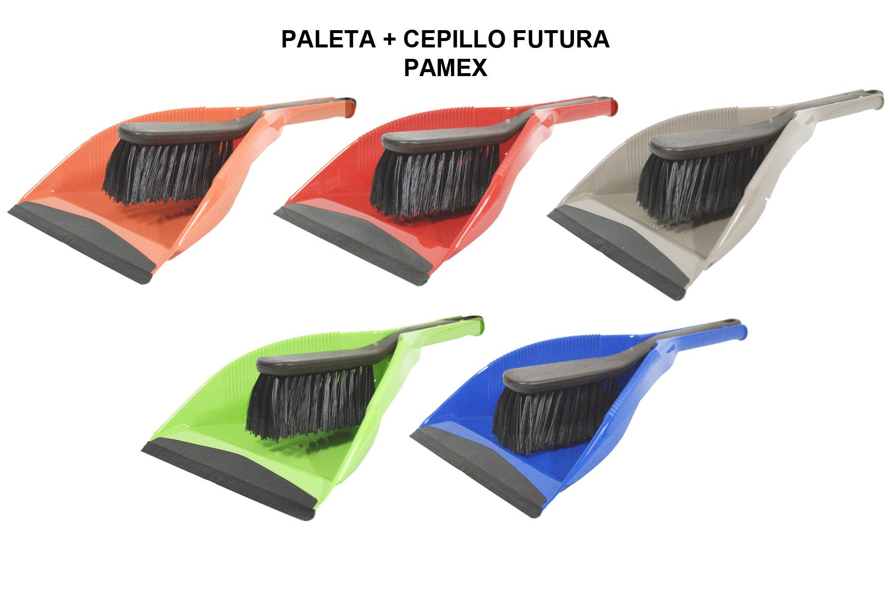 PALETA + CEPILLO FUTURA PAMEX