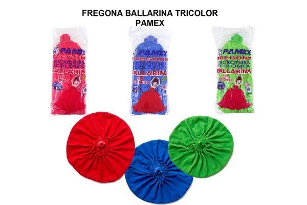 FREGONA BALLARINA TRICOLOR PAMEX