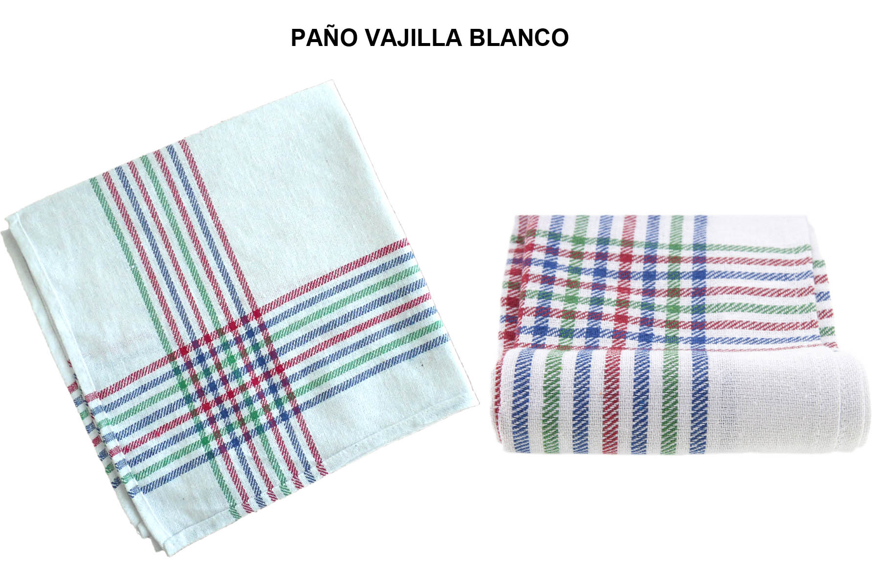 PAÑO VAJILLA BLANCO