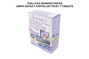 TOALLITAS LIMPIA GAFAS Y PANTALLAS
