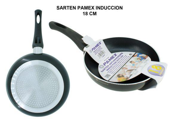 SARTEN PAMEX INDUCCION 18 CM