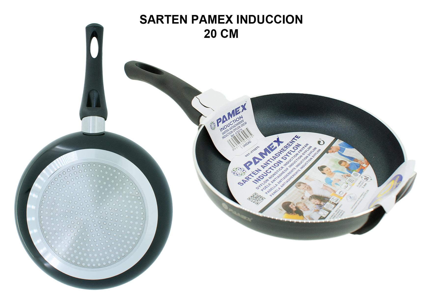 SARTEN PAMEX INDUCCION 20 CM