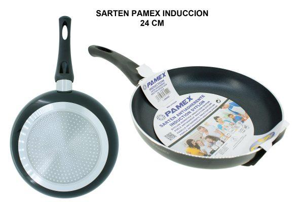 SARTEN PAMEX INDUCCION 24 CM