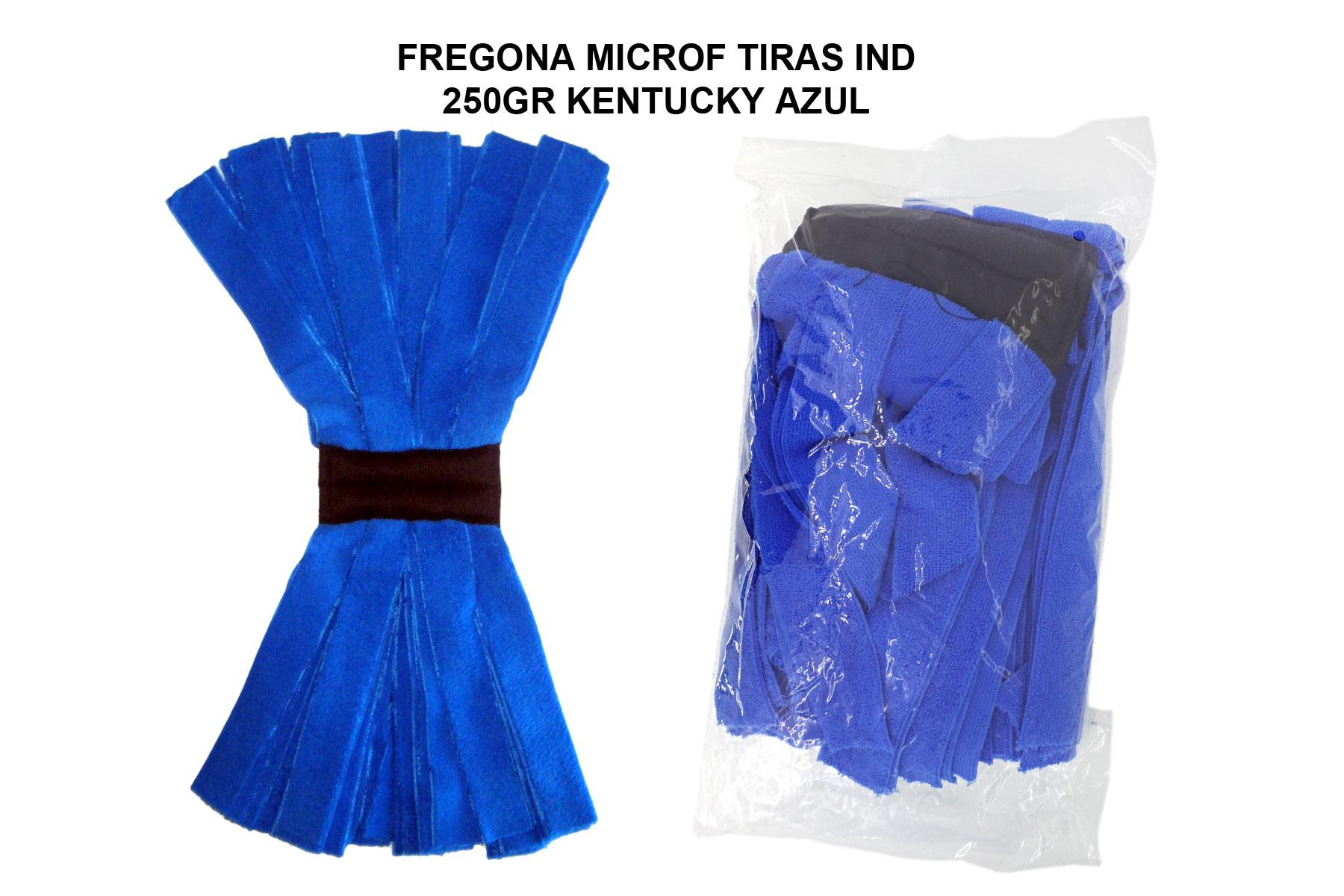 FREGONA MICROF. TIRAS IND 250GR KENTUCKY AZUL