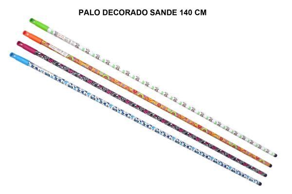 PALO DECORADO SANDE 140 CM