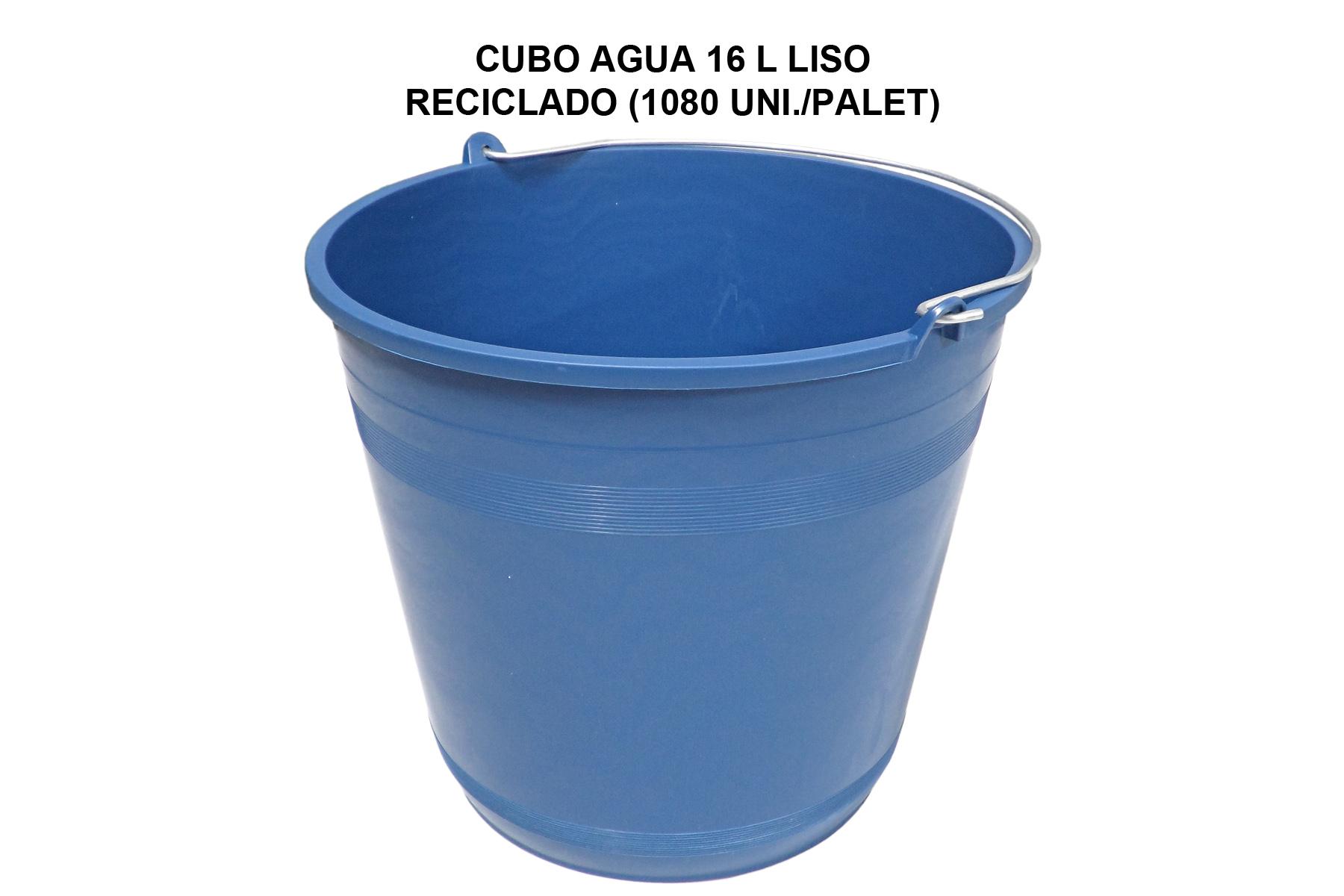 CUBO AGUA 16L LISO RECICLADO