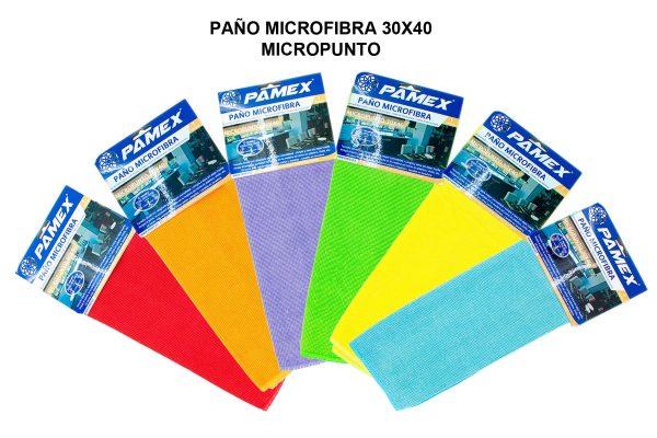 PAÑO MICROFIBRA 30X40 MICROPUNTO