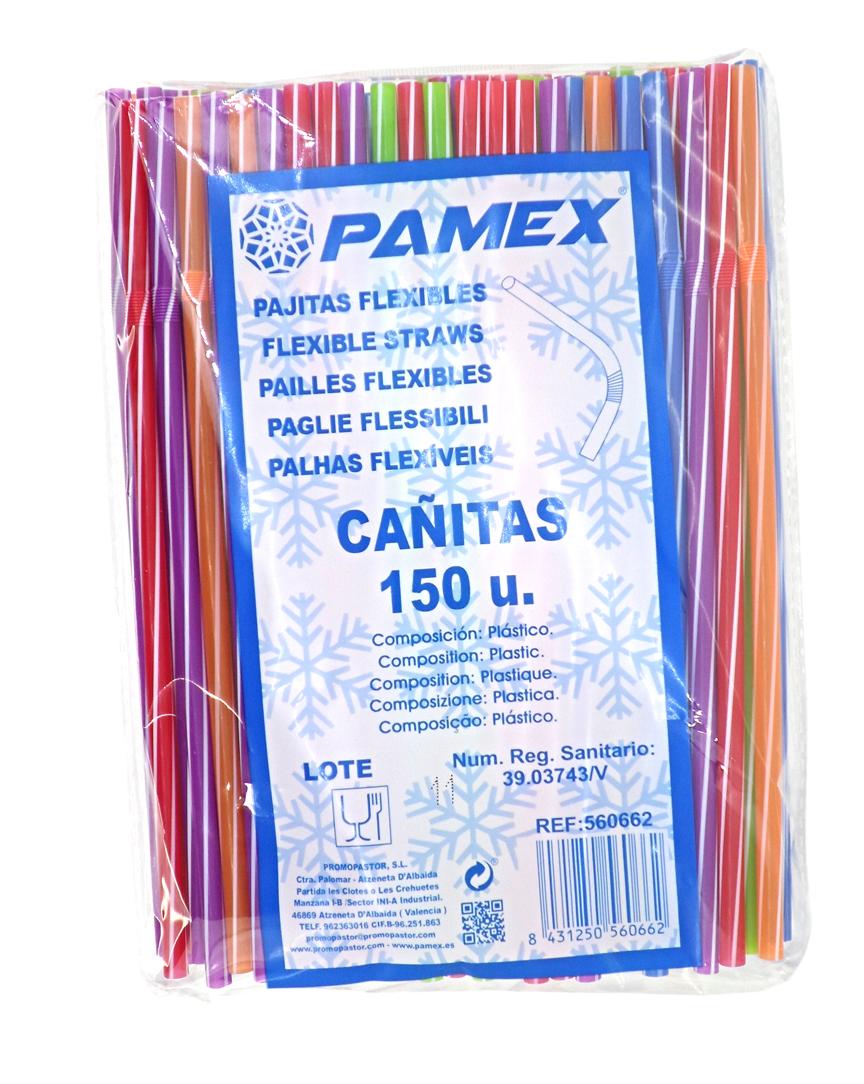 PAJITAS FLEXIBLES CAÑITAS