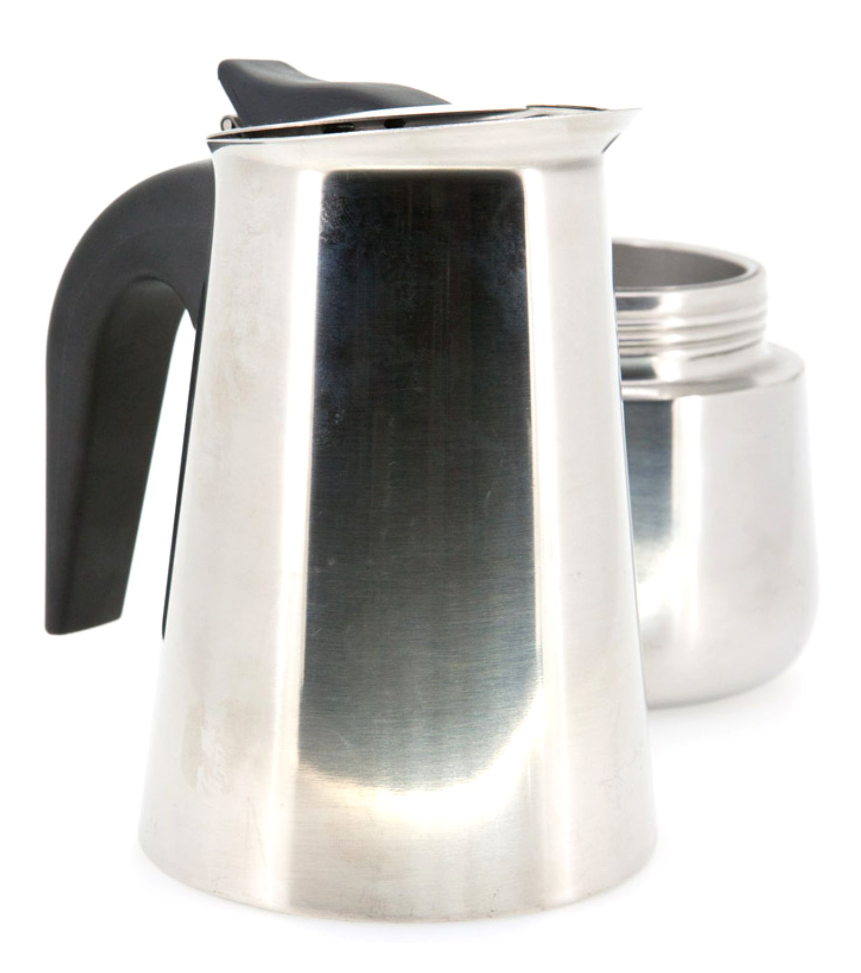 CAFETERA DE ACERO 9 TAZAS INOX