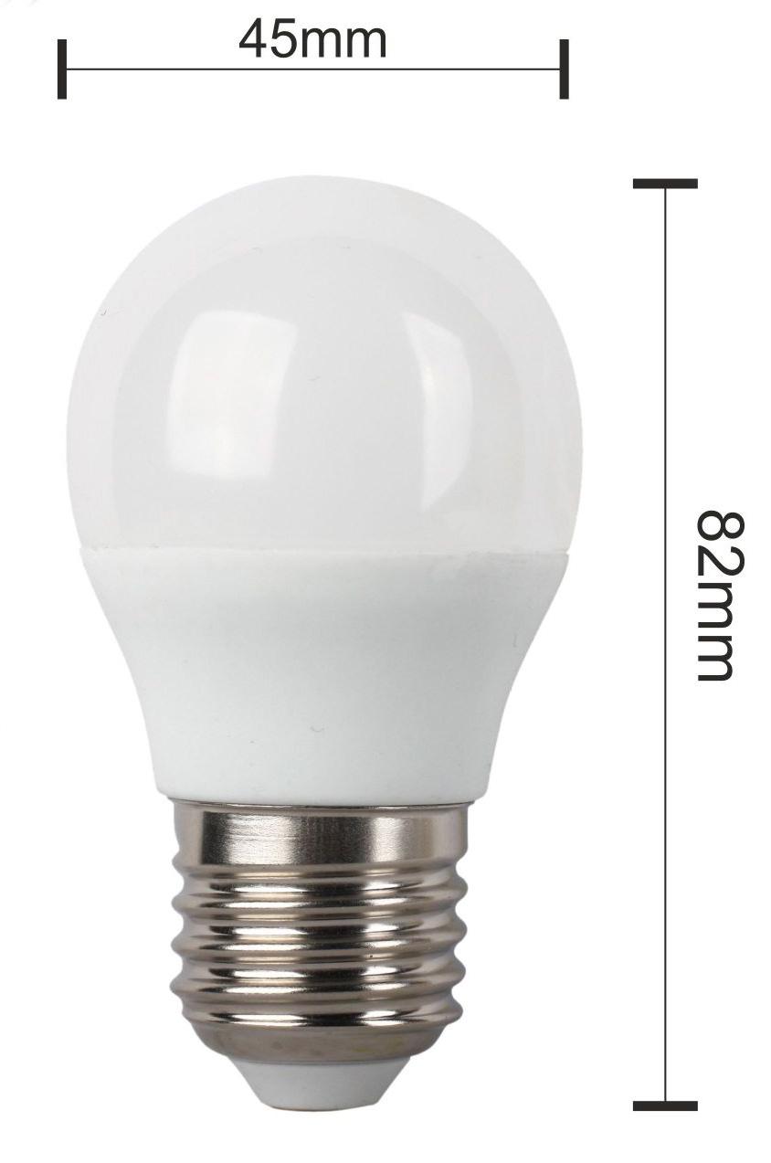 BOMBILLA LED STANDARD G45 LUZ CALIDA