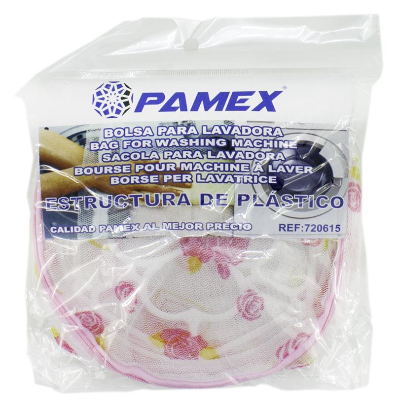BOLSA LAVADORA 15X15 CON ESTRUCTURA DE PLASTICO