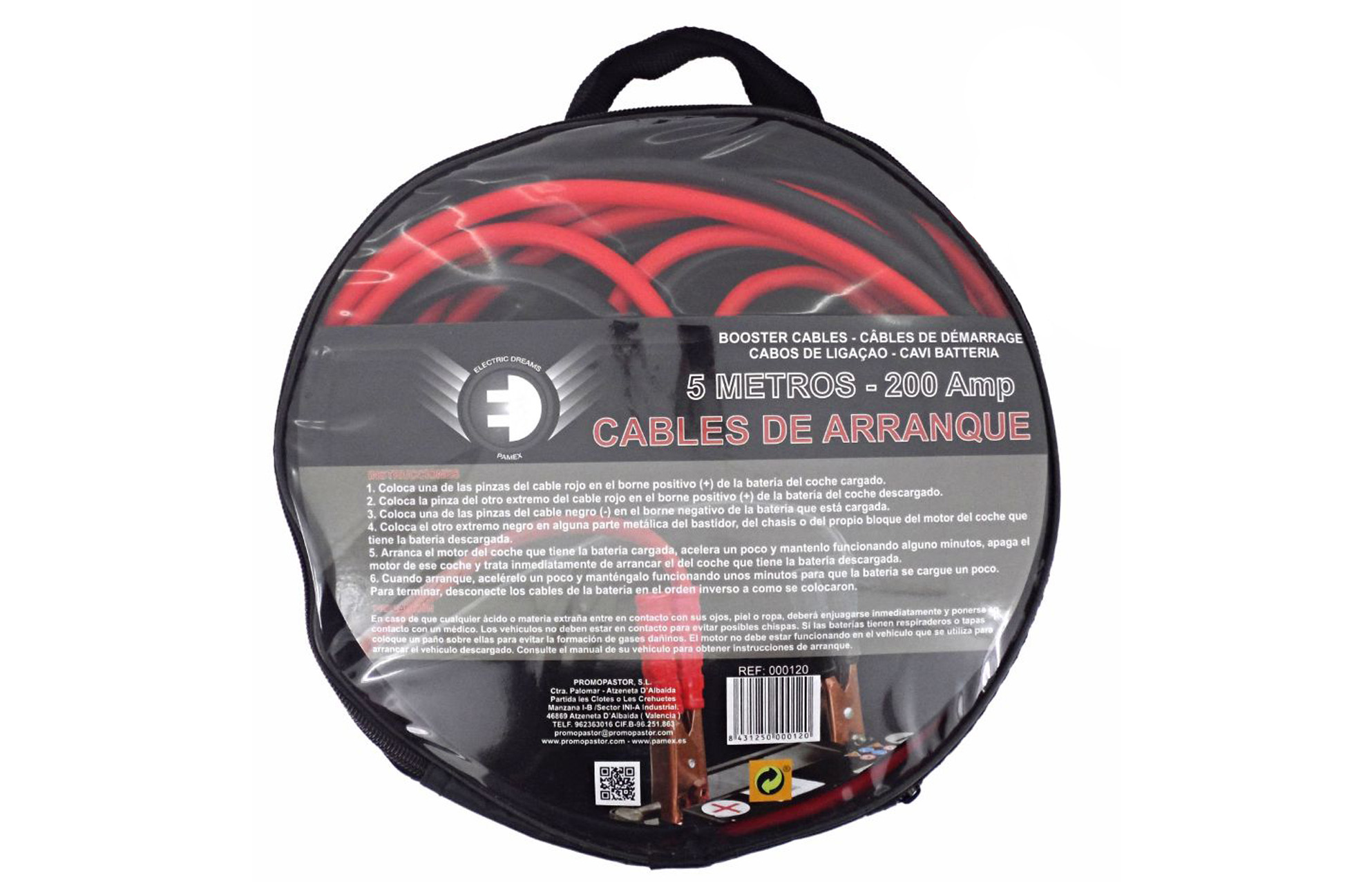 CABLES DE ARRANQUE 5 M