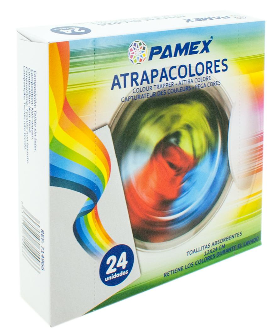 TOALLITAS ABSORBENTES ATRAPACOLORES 12X24CM SET 24