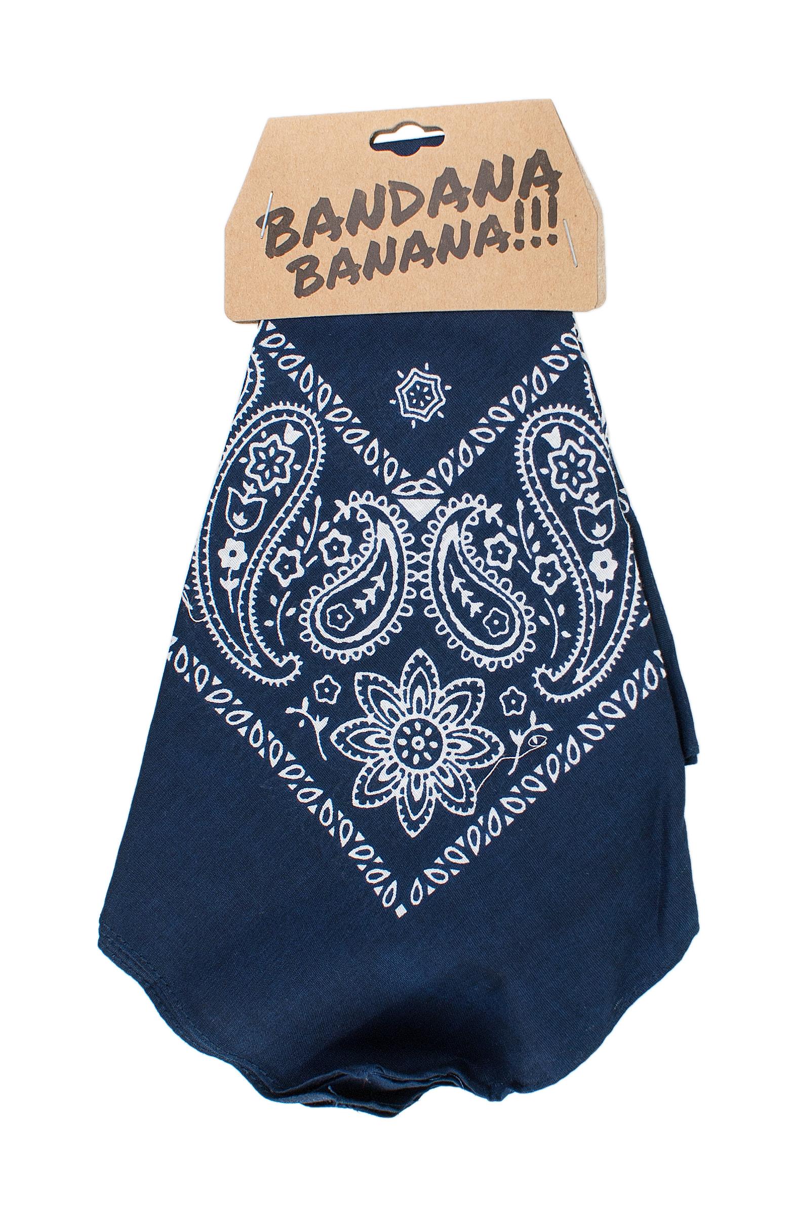BANDANA BANANA 55X55 CM