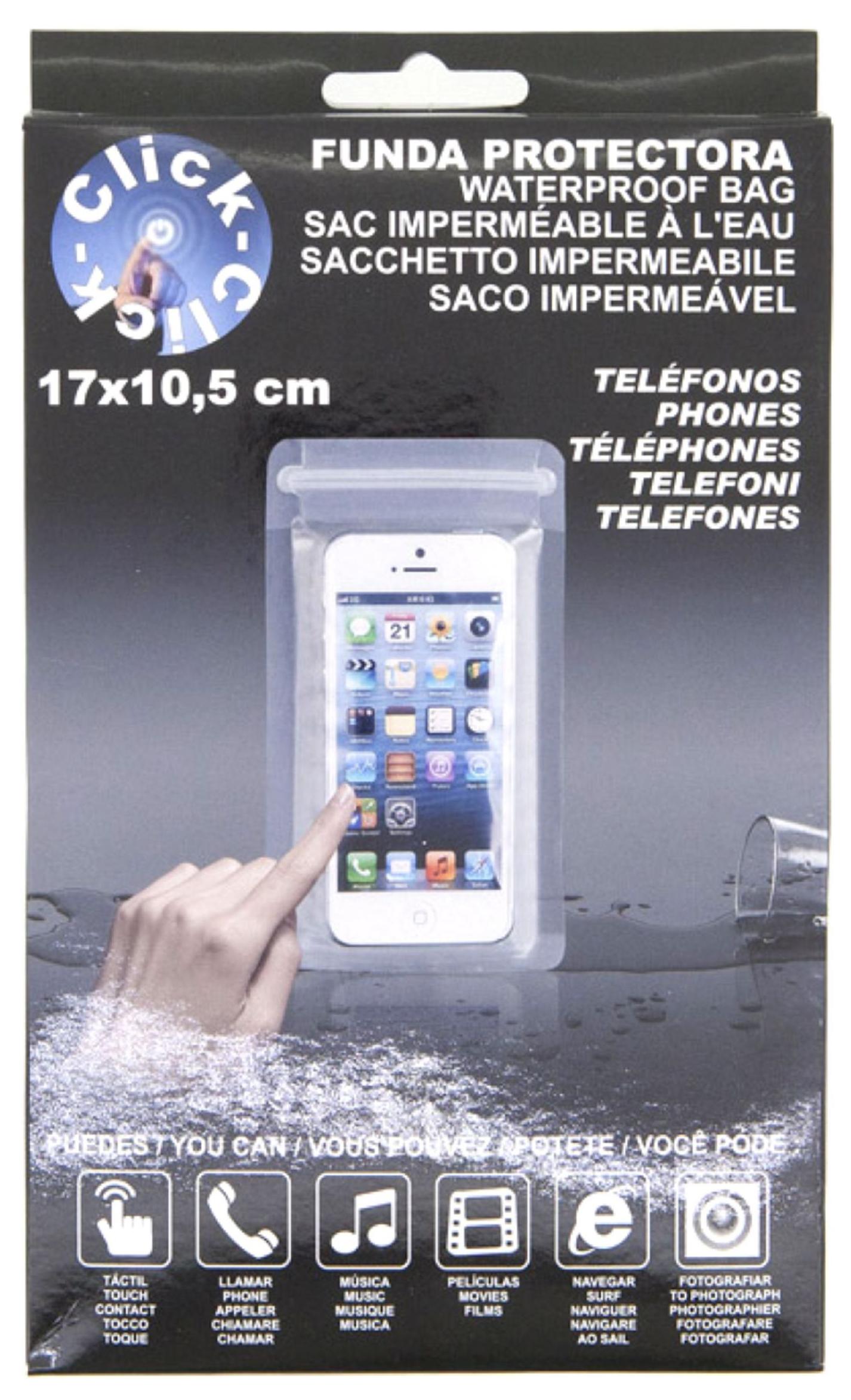 FUNDA PROTECTORA TELEFONO 17X10.5 CM