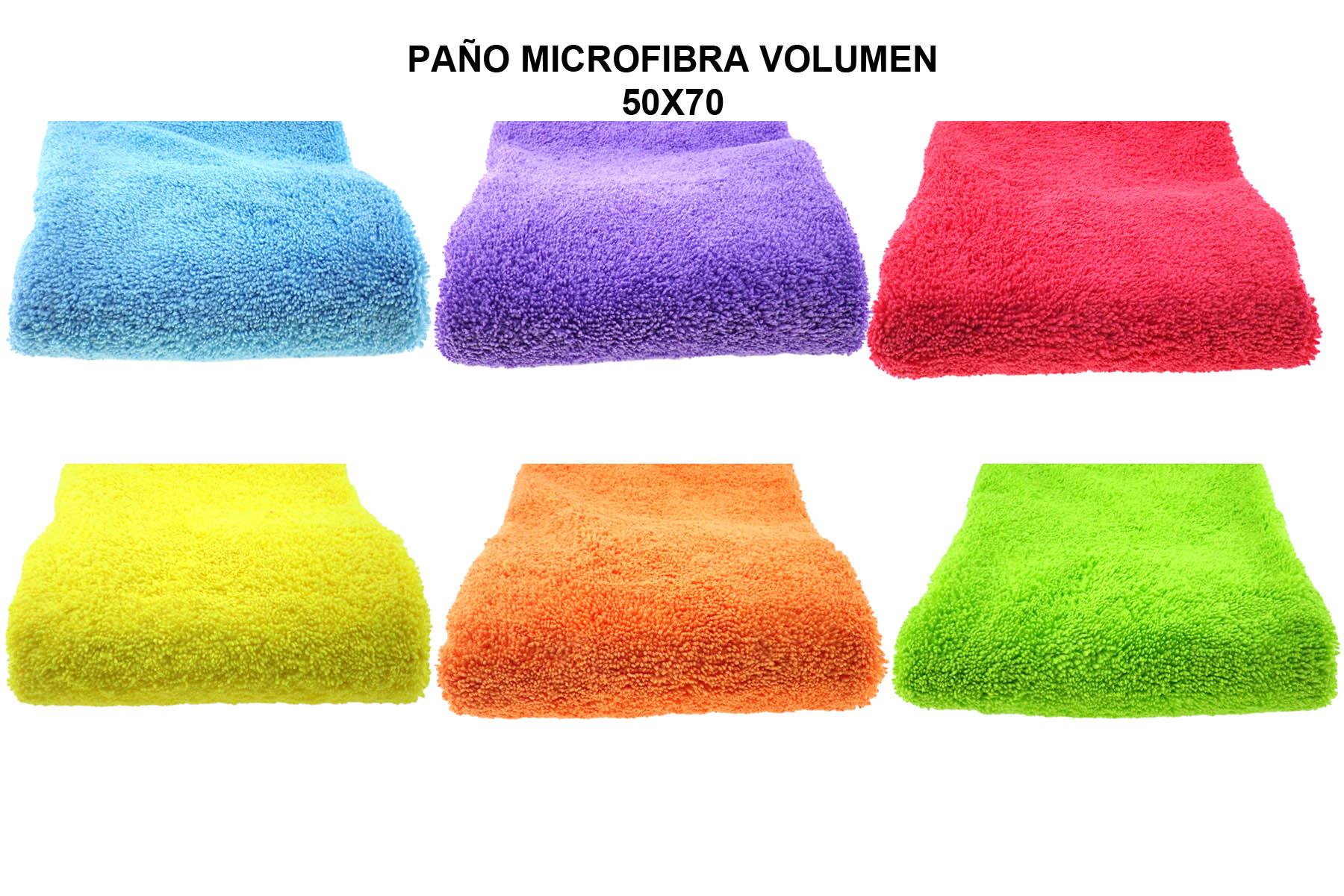 PAÑO MICROFIBRA VOLUMEN 50X70