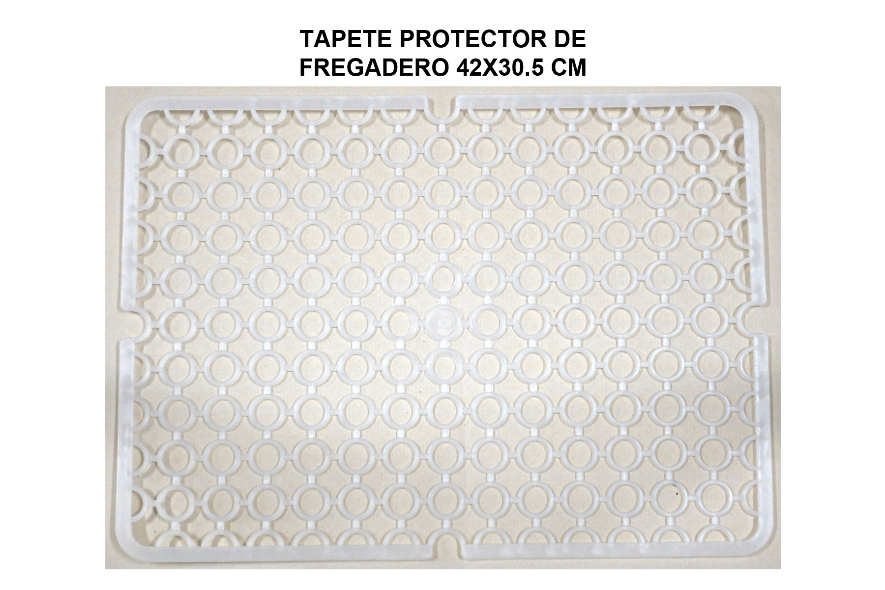 TAPETE PROTECTOR FREGADERO 42X30.5 CM