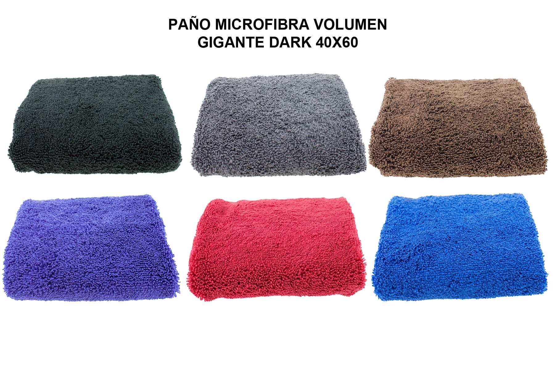 PAÑO MICROFIBRA VOLUMEN GIGANTE DARK 40X60