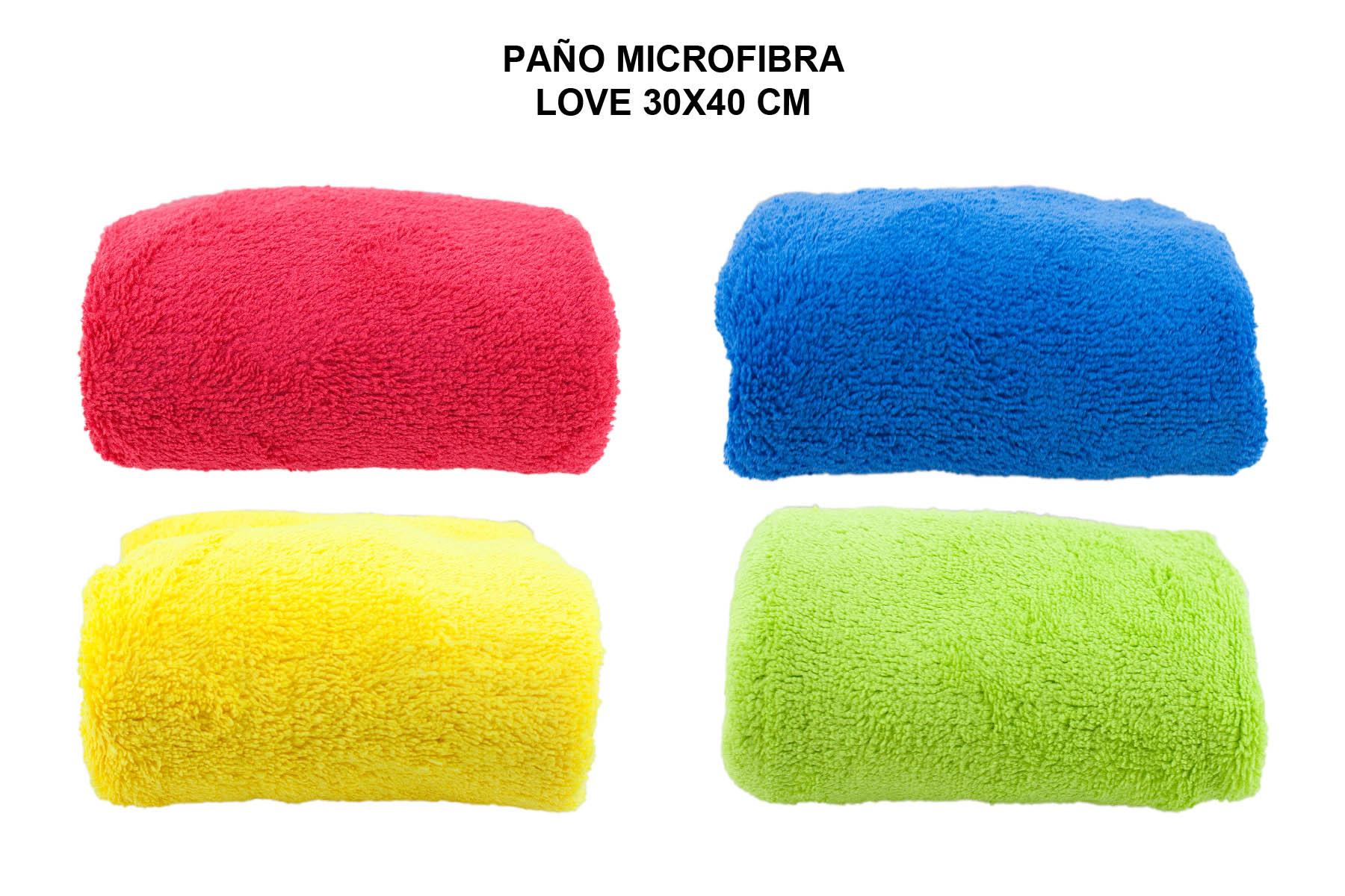 PAÑO MICROFIBRA LOVE 30X40 CM