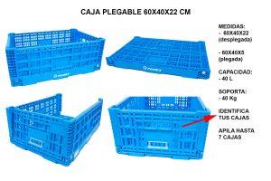 CAJA PLEGABLE 60X40X22 CM