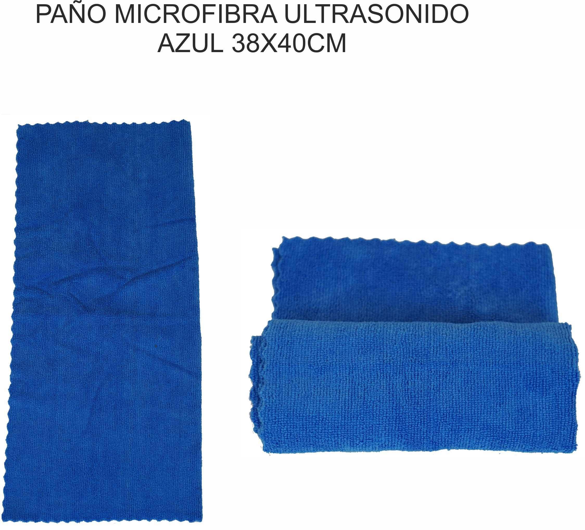 PAÑO MICROFIBRA ULTRASONIDO AZUL 38X40CM PAMEX
