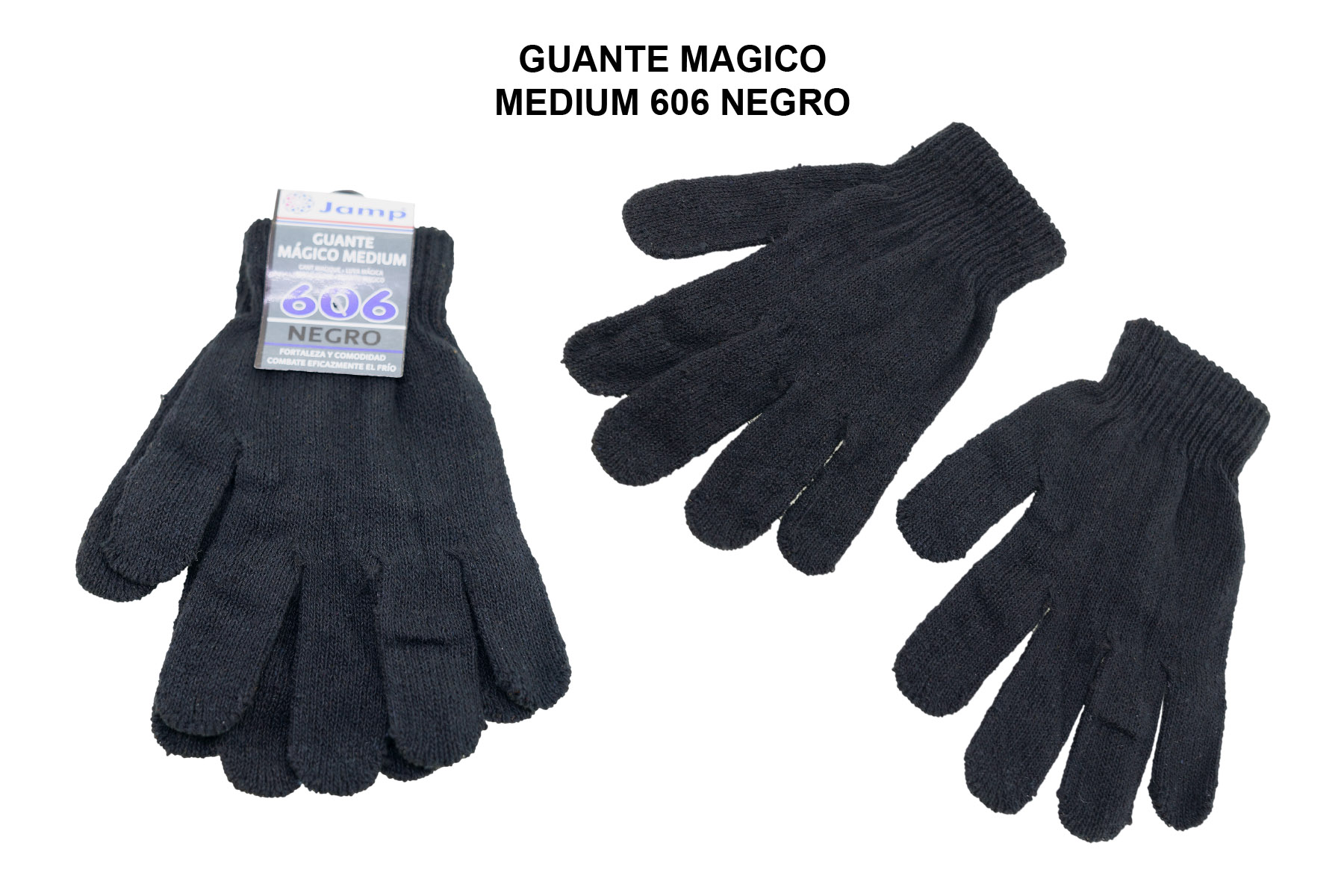 GUANTE MAGICO MEDIUM 606 NEGRO